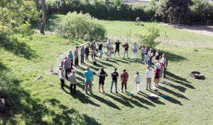 nature, circle. ecovillage, germany, intentional community,